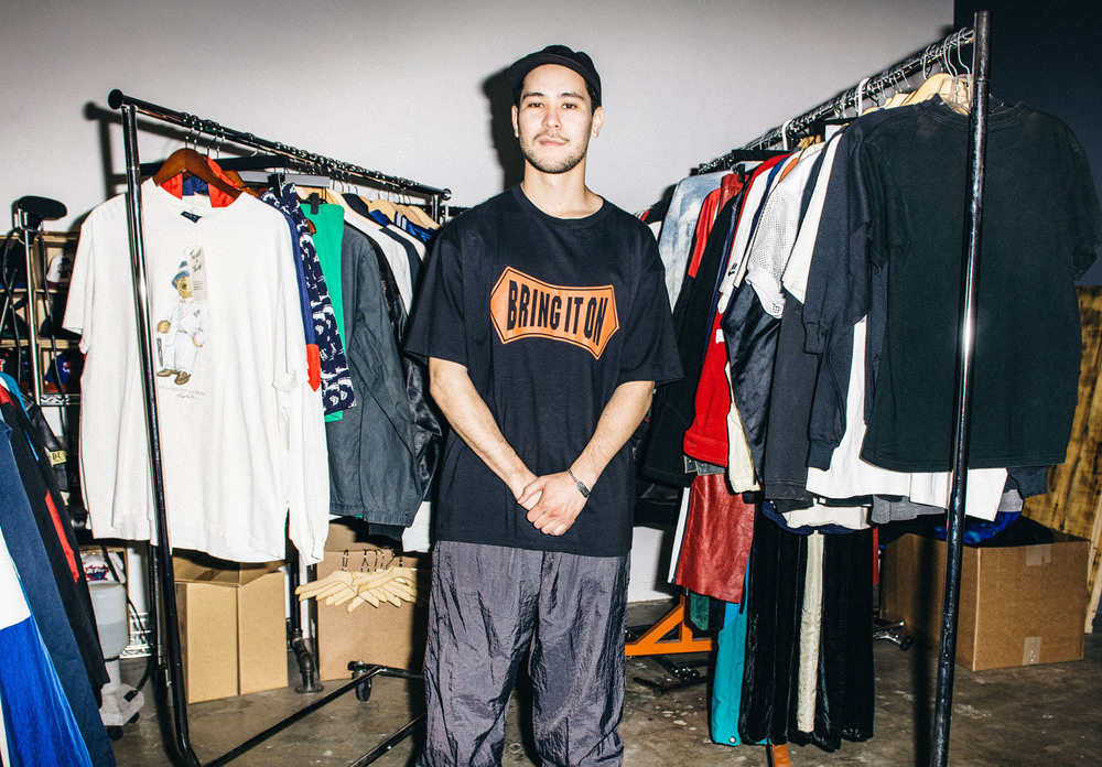 "Drew for Tried & True Co. wearing Nike Charles Barkley ""Bring It On"" Tee. / Photo: © Diane Abapo for SUSPEND Magazine"