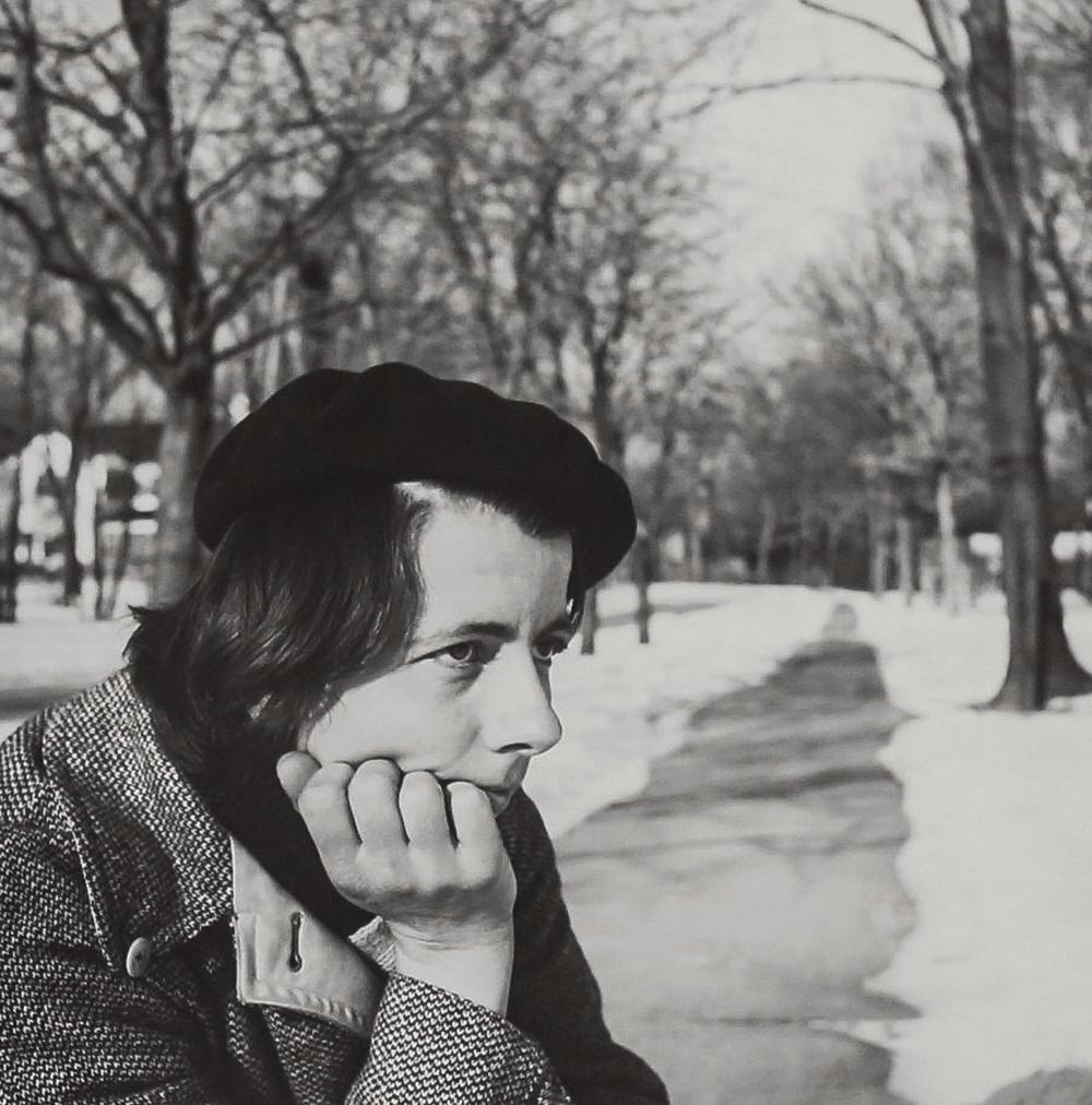 1960, Self-Portrait, Hat (Modern gelatin silver print)Vivian Maier.