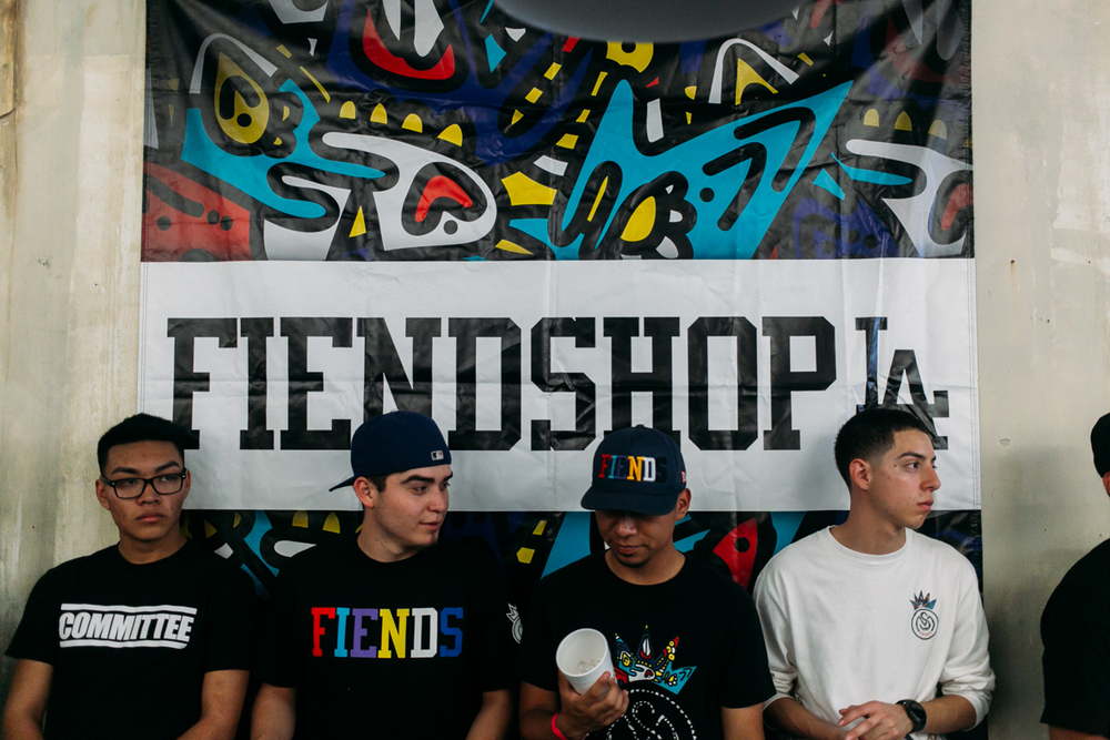 FIENDSHOP LA (April 2) on Melrose. / Photo: © Kayla Reefer for SUSPEND Magazine
