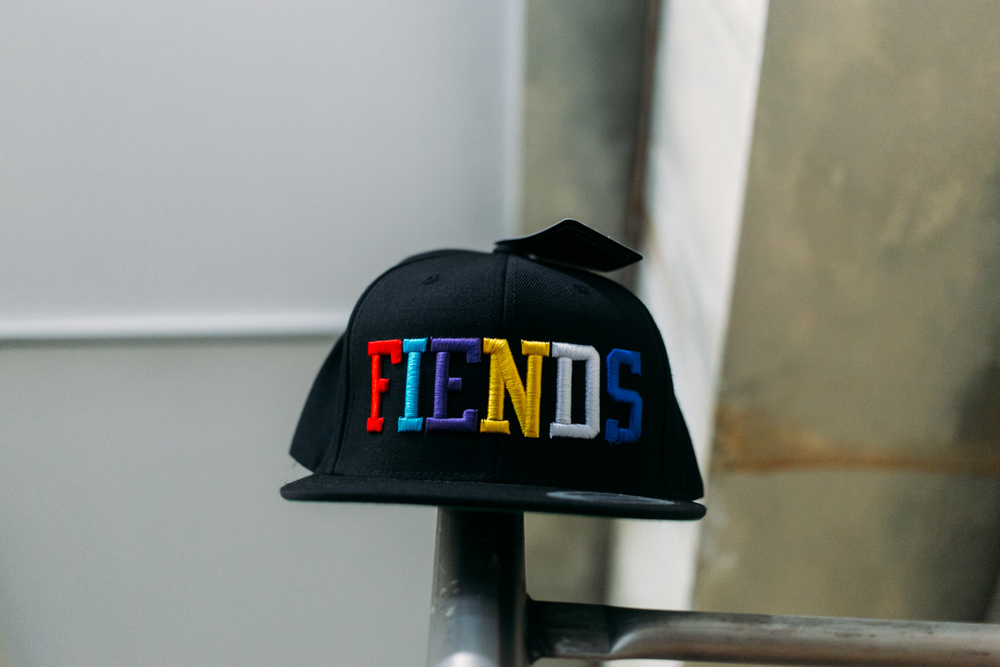 FIENDS Snapback at FIENDSHOP LA (April 2) on Melrose. / Photo: © Kayla Reefer for SUSPEND Magazine