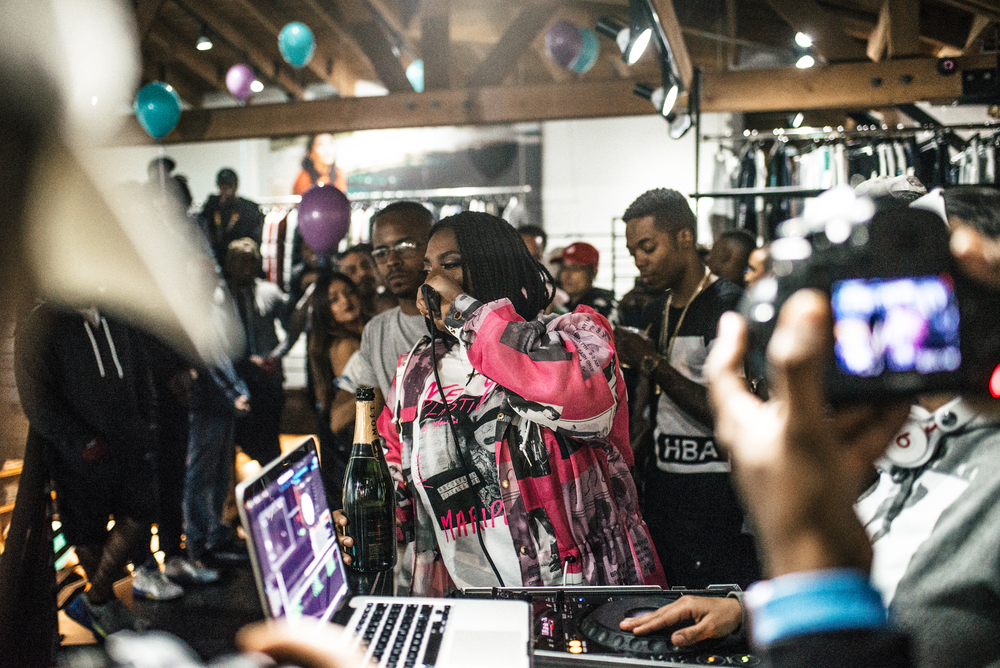 "Kamaiyah's ""A Good Night In The Ghetto"" listening party (April 1). / Photo: © Diane Abapo for SUSPEND Magazine."