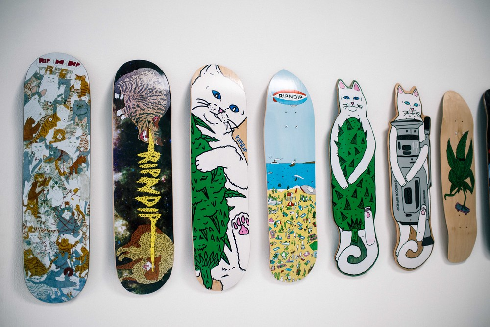 RIPNDIP Pop-Up on Fairfax (March 30). / Photo: © Diane Abapo for SUSPEND Magazine
