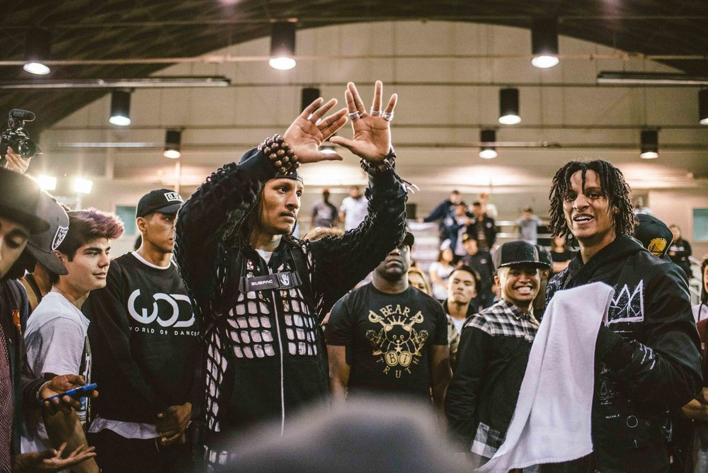 Les Twins freestyle dance battle on April 2. / Photo: © Diane Abapo for SUSPEND Magazine.