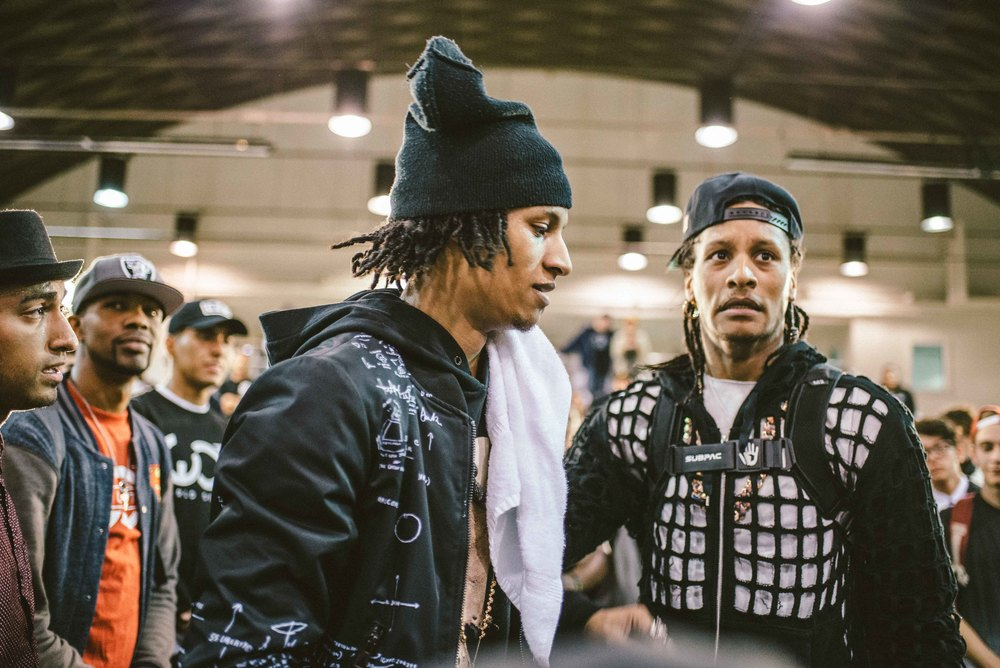 Les Twins photographed by Diane Abapo / SUSPEND Magazine.
