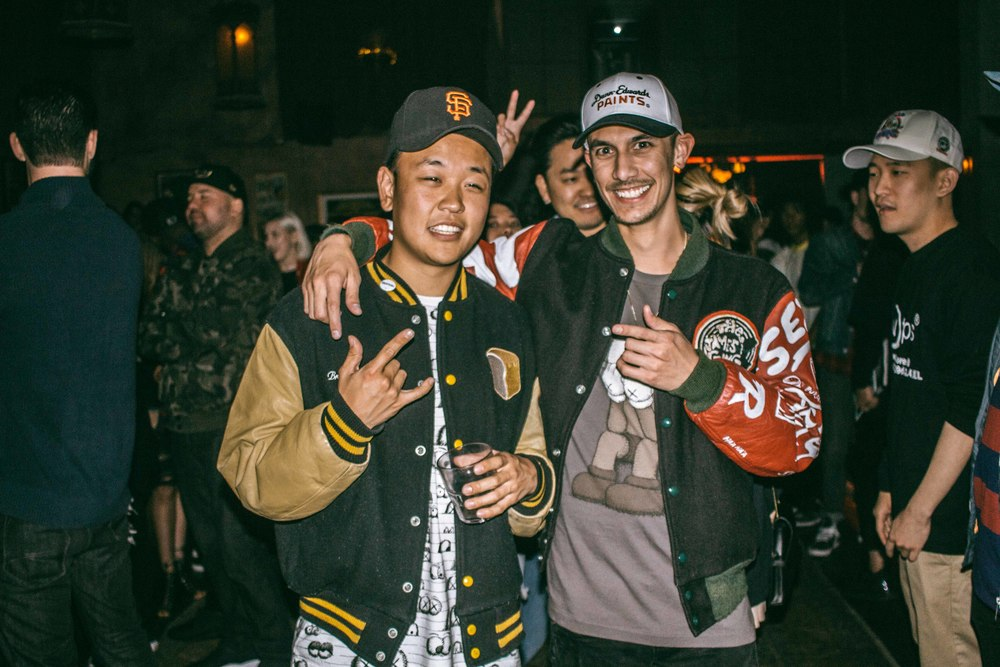 Aaron Lau and Aaron Kai at Be Street ISSUE 31 release at Adults Only in Los Angeles (April 27). / Photo: © Diane Abapo