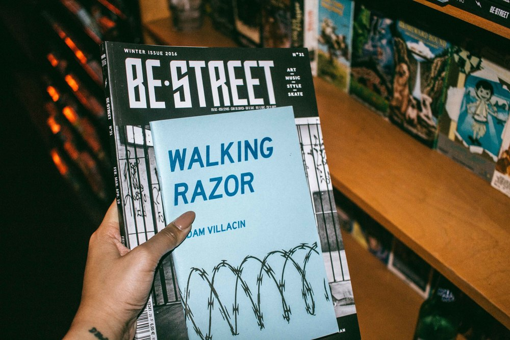 Be Street ISSUE 31 release at Adults Only in Los Angeles (April 27). / Photo: © Diane Abapo