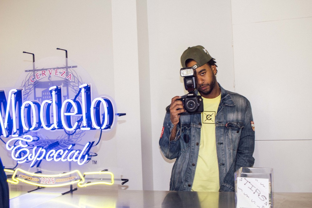 "Devinn Campbell at SUSPEND Presents ""Dope After Hours"" with DOPE x Modelo™ / Photo: © Diane Abapo for SUSPEND Magazine"