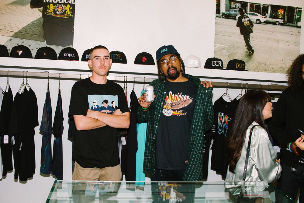 "SUSPEND Presents ""Dope After Hours"" with DOPE x Modelo™ / Photo: © Devinn Campbell for DOPE®"