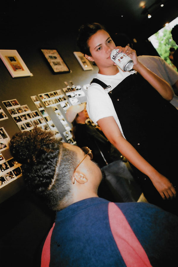 """Time Flies"" polaroid exhibition by Obi O. of FriendsOnly™ / Photo: © Christy J. Kim for SUSPEND®"
