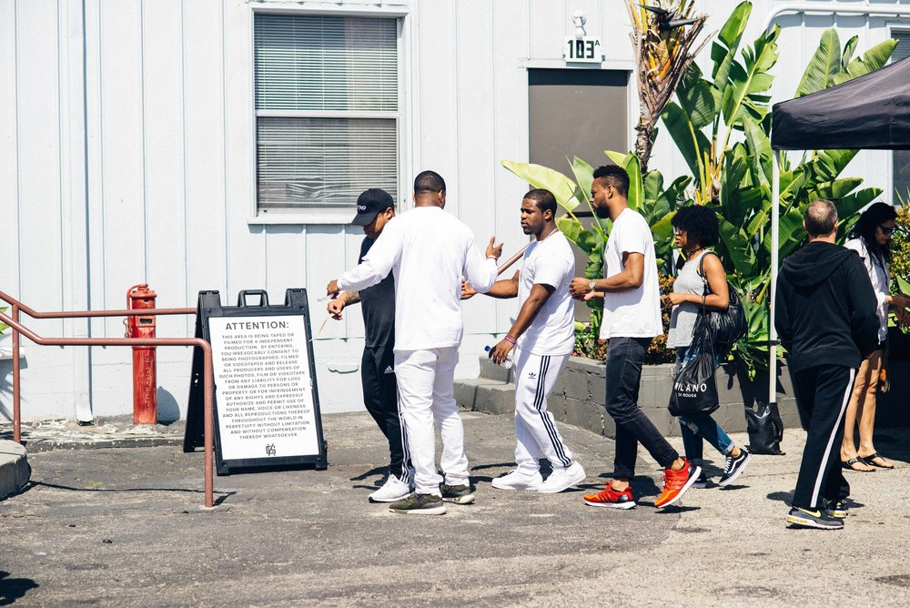 ASAP Ferg arrives at Adidas Mercury Center (June 3). / Photo: © Diane Abapo for SUSPEND Magazine.