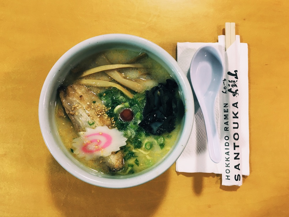 Shio Ramen from Santouka // Photograph © Hannah R.J.A. Song / SUSPEND Magazine