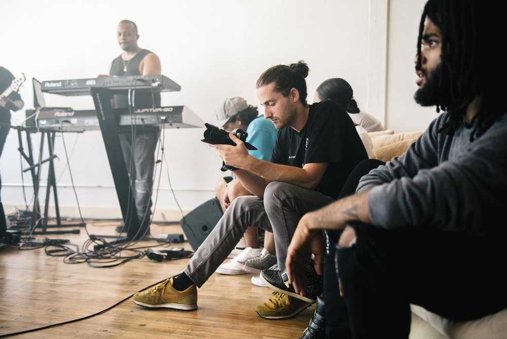 "All Def Digital's ""Live Leaks"" session in Los Angeles (June 26). / Photo: © Diane Abapo for SUSPEND Magazine."