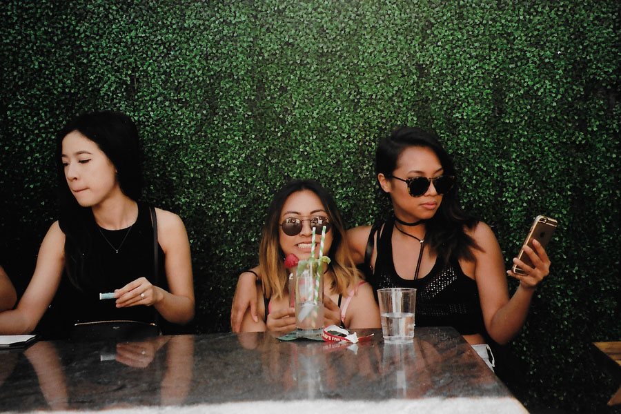 SUSPEND hosts 'Ice Cream Sundays' at Lock & Key in Koreatown (June 26). / Photo: © Christy J. Kim for SUSPEND