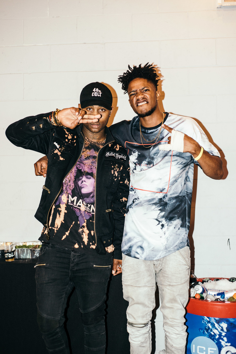 "M99 hosts ""SXND FACTXRY"" with Pro Era (July 8). / Photo: © Diane Abapo for SUSPEND Magazine"