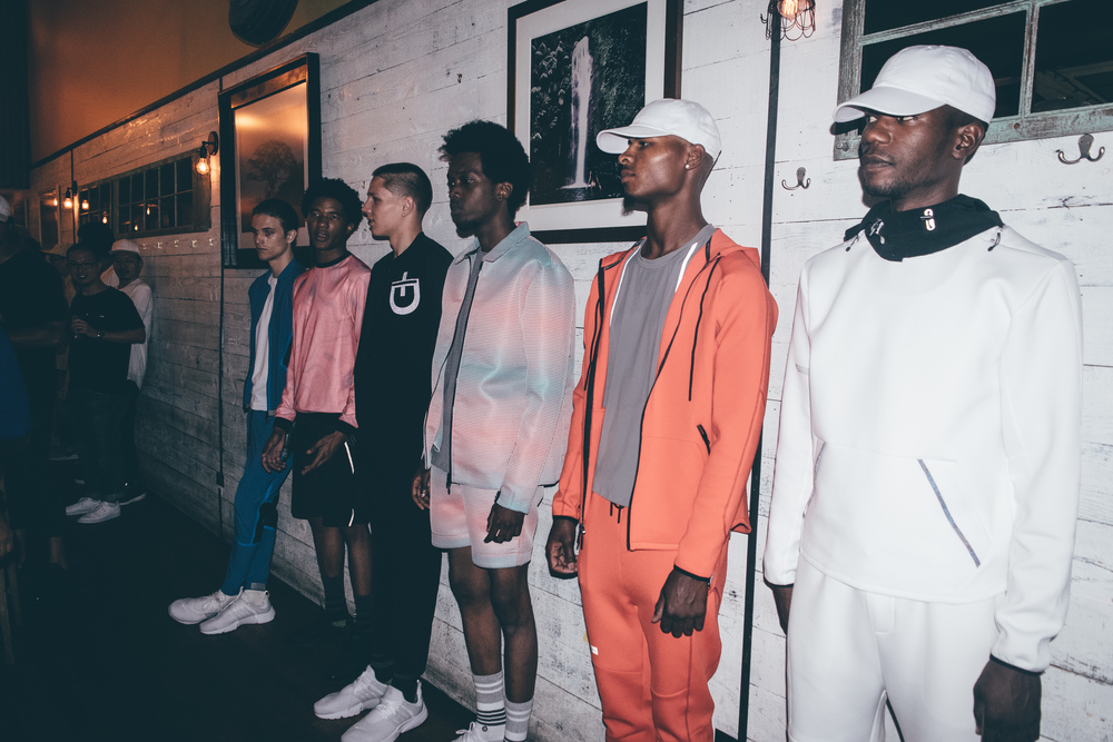 DYNE Launch Party at New York Fashion Week Mens. / Photo: © Nabil Miftahi for SUSPEND Magazine