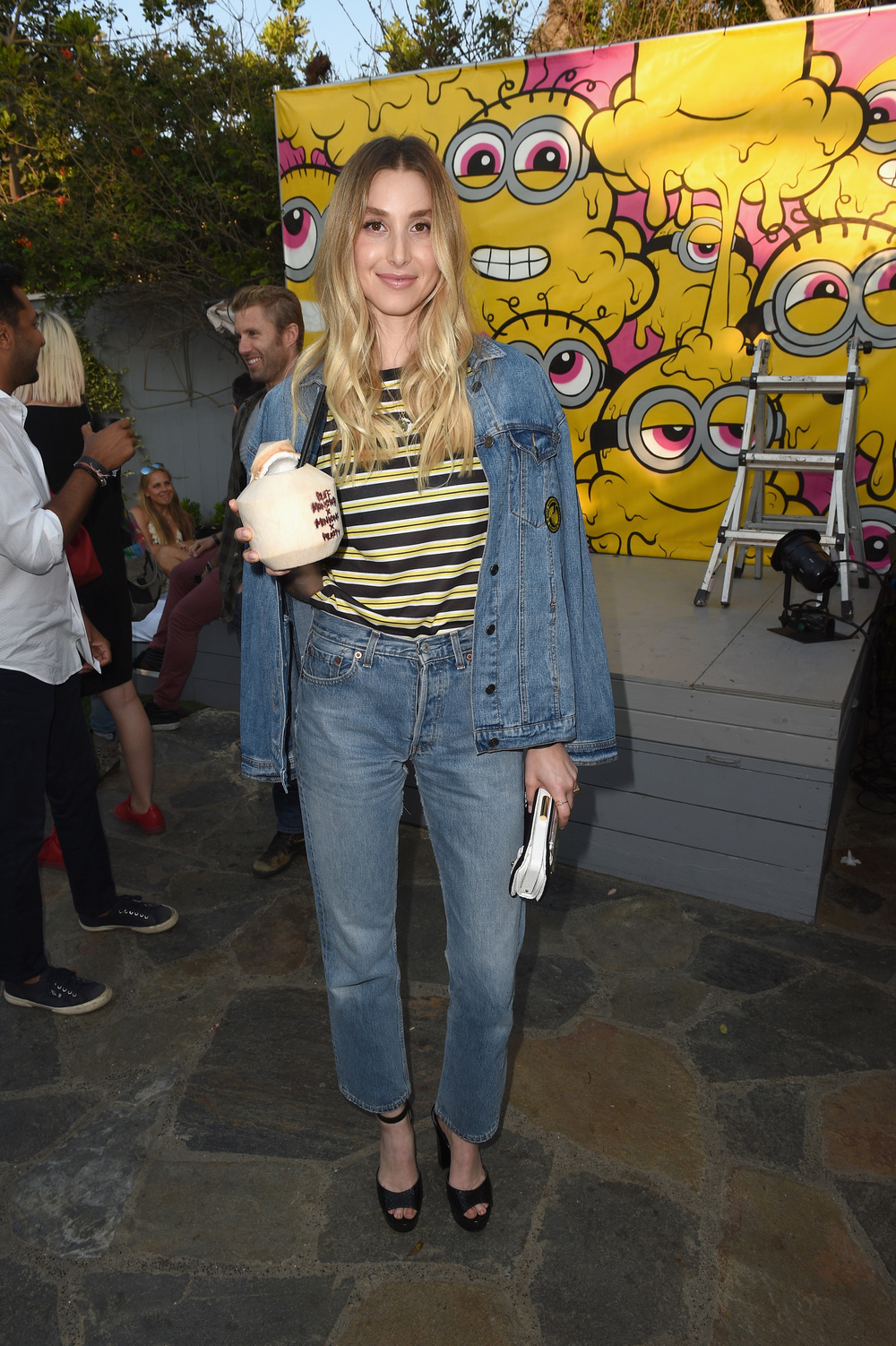Whitney Port attends Buff Monster x Minions x Rusty Lost in Paradise Capsule Collection launch event on July 28, 2016 in Santa Monica, California.  (Photo by Joshua Blanchard/WireImage)