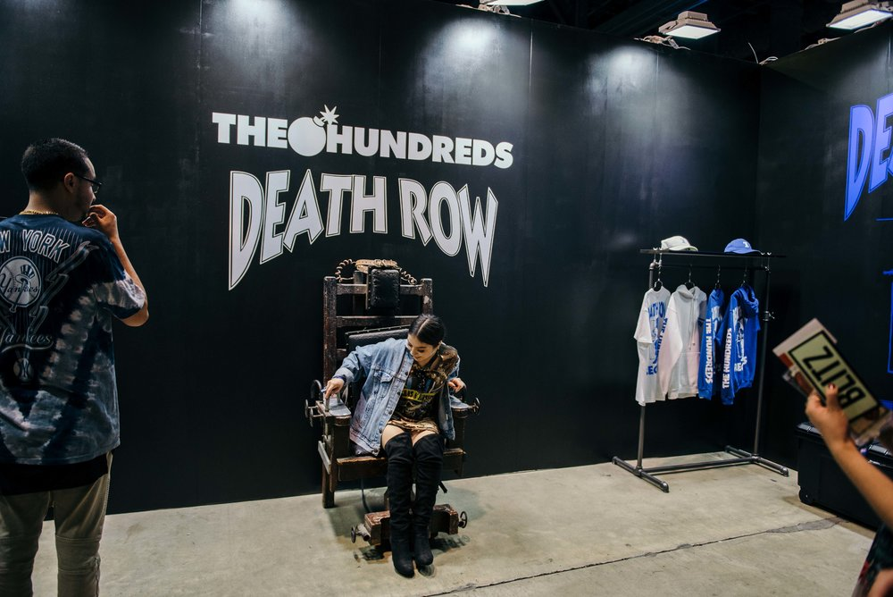 The Hundreds X Death Row at ComplexCon 2016 / Photo © Diane Abapo for SUSPEND Magazine