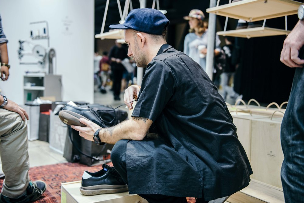 Clear Weather X Shoe Surgeon at ComplexCon 2016 / Photo © Diane Abapo for SUSPEND Magazine