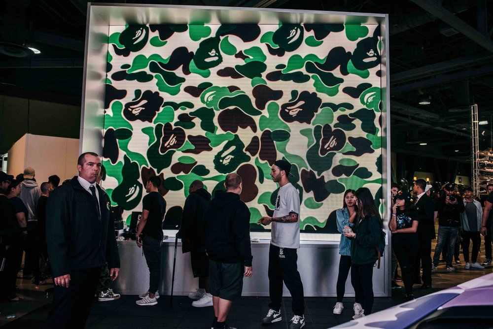 BAPE at ComplexCon 2016 / Photo © Diane Abapo for SUSPEND Magazine