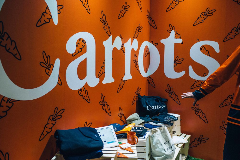Carrots by Anwar Carrots at ComplexCon 2016. / Photo: © Diane Abapo for SUSPEND Magazine