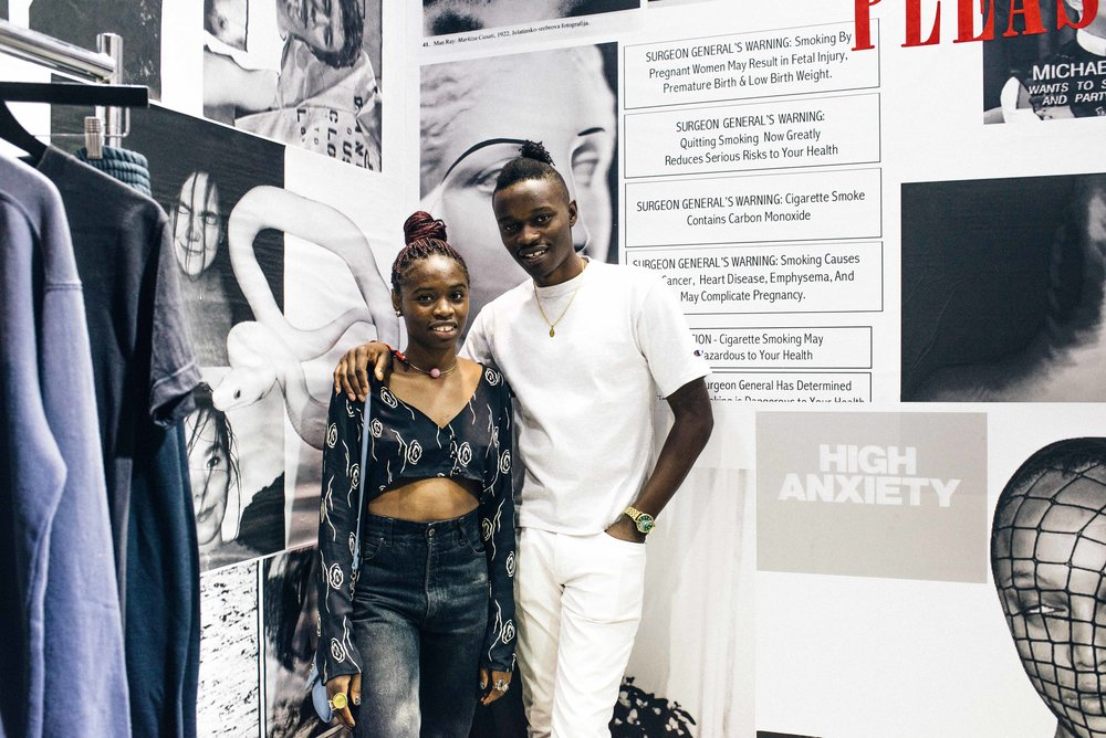 Theophilus Martins and his sister at PLEASURES at ComplexCon 2016. / Photo: © Diane Abapo for SUSPEND Magazine