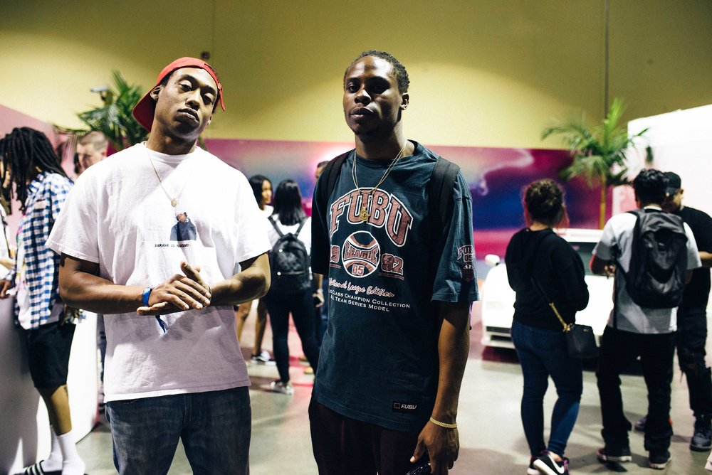 Danny and Obi O. of FriendsOnly™ at ComplexCon 2016. / Photo: © Diane Abapo for SUSPEND Magazine