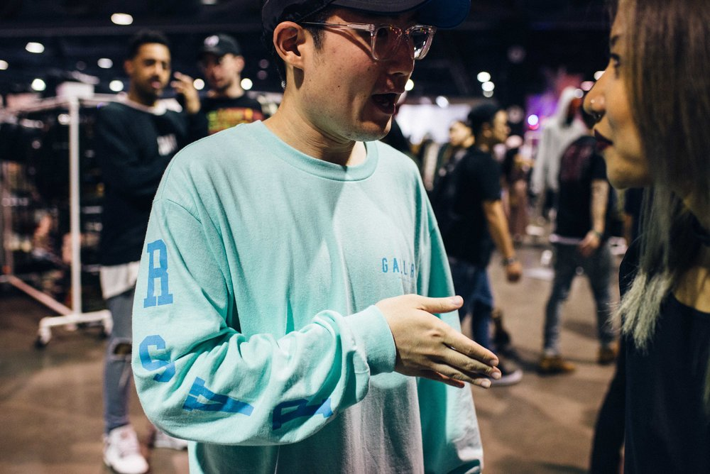 Justin of RSVP Gallery at ComplexCon 2016. / Photo: © Diane Abapo for SUSPEND Magazine