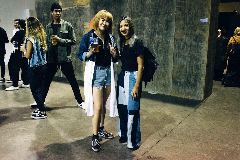 Ashley Chen and Leslie at ComplexCon 2016. / Photo: © Diane Abapo for SUSPEND Magazine