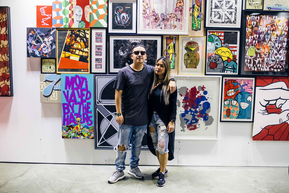 Lisa and Brennan at ComplexCon 2016. / Photo: © Diane Abapo for SUSPEND Magazine