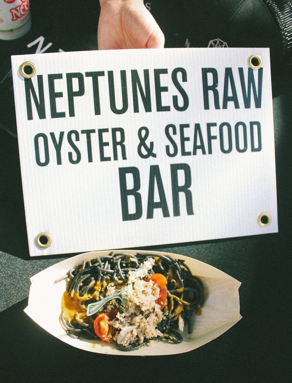 NOODS NOODS NOODS Festival (January 14). Neptunes Raw Oyster & Seafood Bar. / Photo: © Emil Ravelo for SUSPEND Magazine.