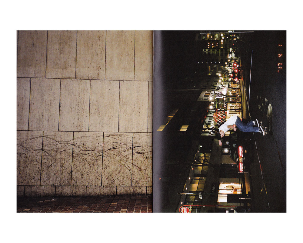 'Suspend Goes to Japan But Mostly Shibuya' zine presented by SUSPEND. Featured photo by Randy Nakajima.