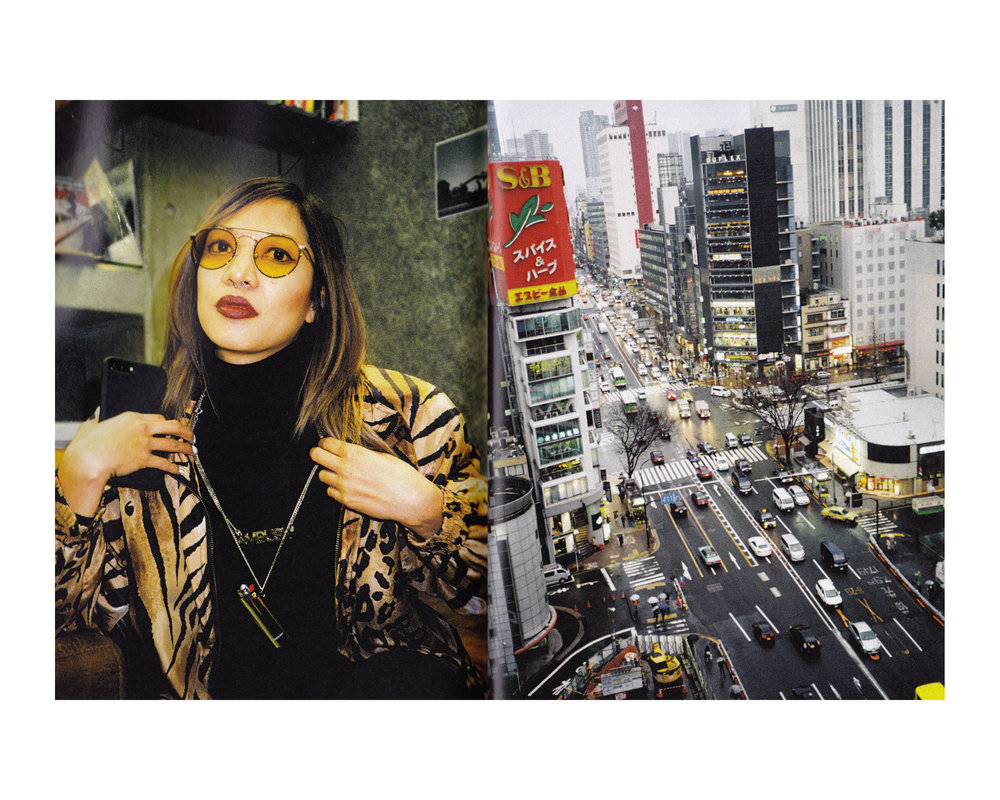 'Suspend Goes to Japan But Mostly Shibuya' zine presented by SUSPEND. Featured photo by Diane Abapo.