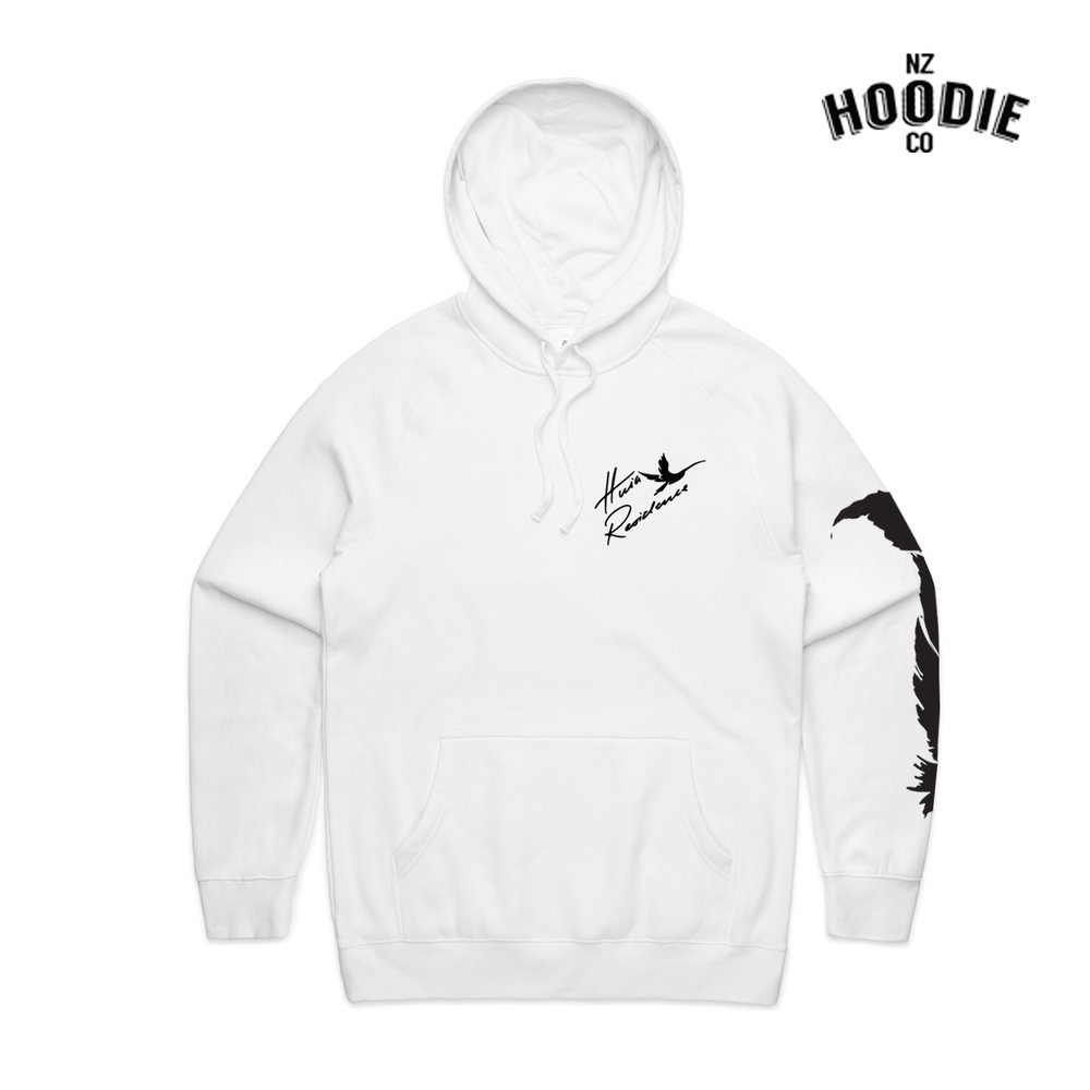 Huia Design WHITE Supply Hoodie FRONT.jpg