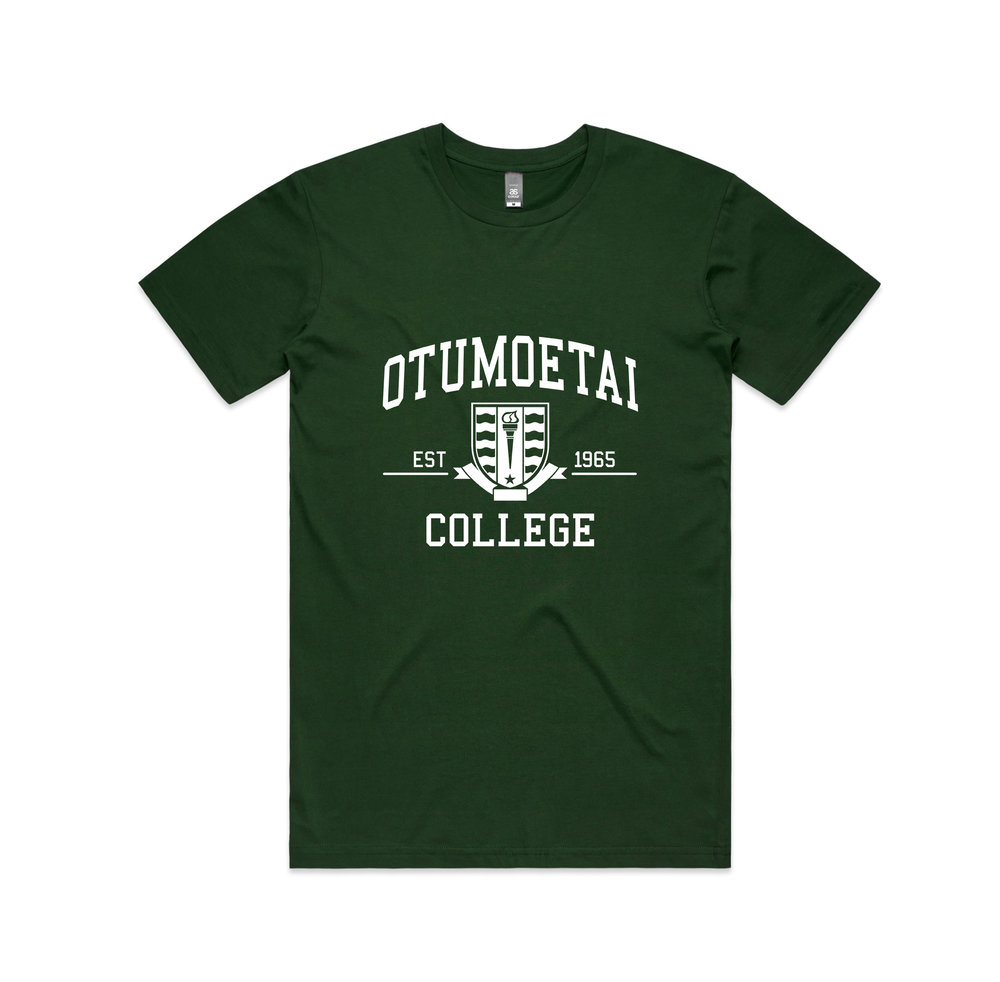 NZ Hoodie Co - Otumoetai College-Green Tshirt.jpg