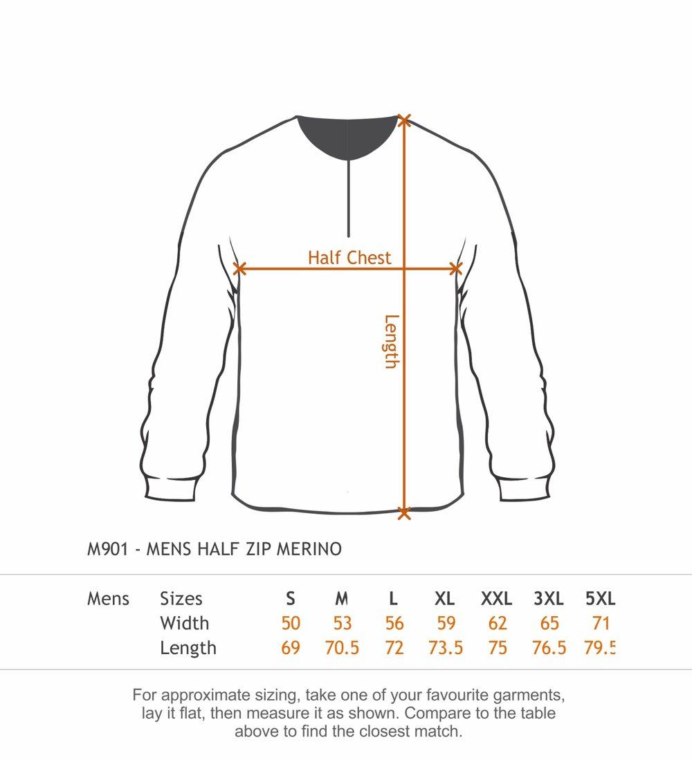 NZHC - size chart Alpine Merino Mens.jpg