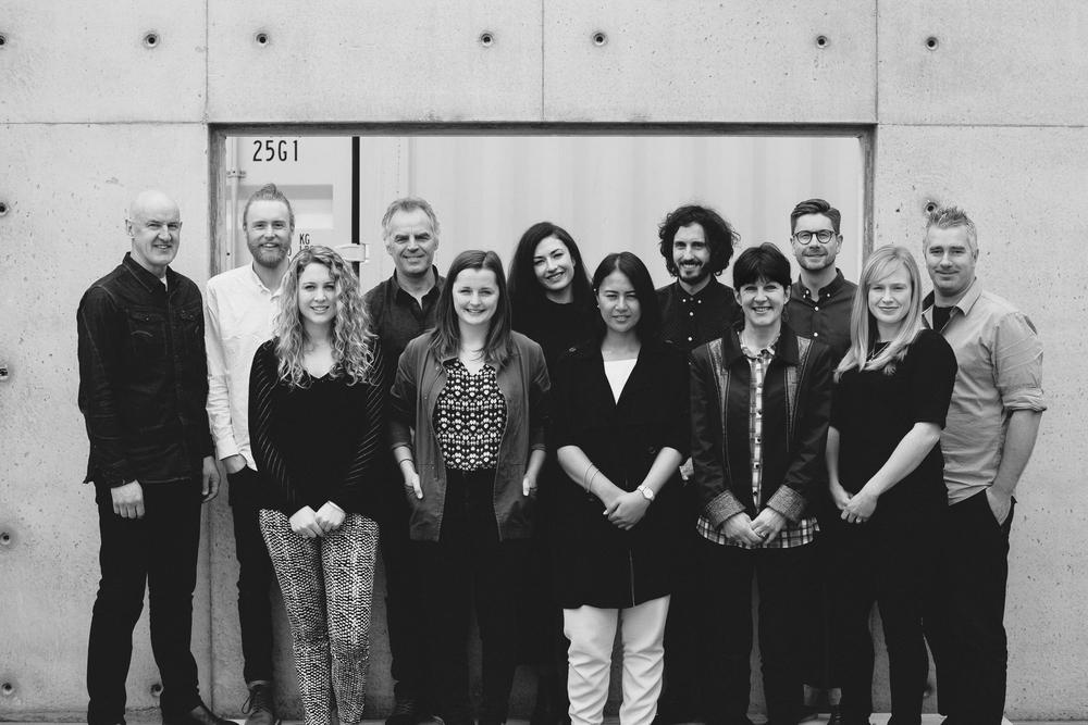 Left back: Dave Strachan, James O'Toole, Pat de Pont, Maria Taylor, Ross Keane, Brad Pearless, Roy Tebutt Left front: Jess Malcolm, Katie Hay, Joanna Jack, Michelle Flatz, Hannah Andrew