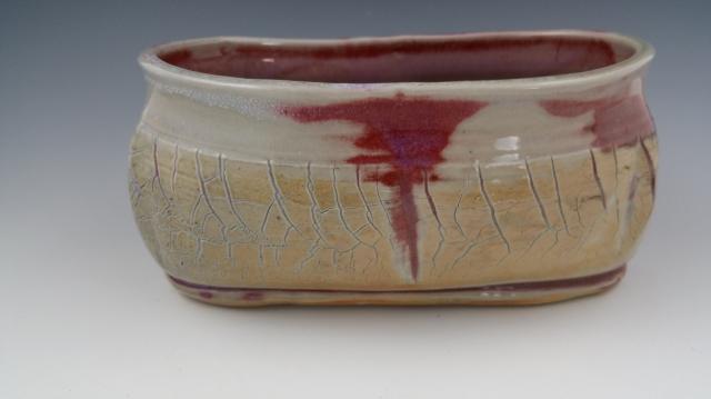 Wood Fired Altered Sodium Sil. Vase