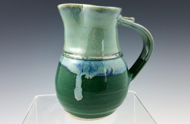 Sage/Teal Pitcher