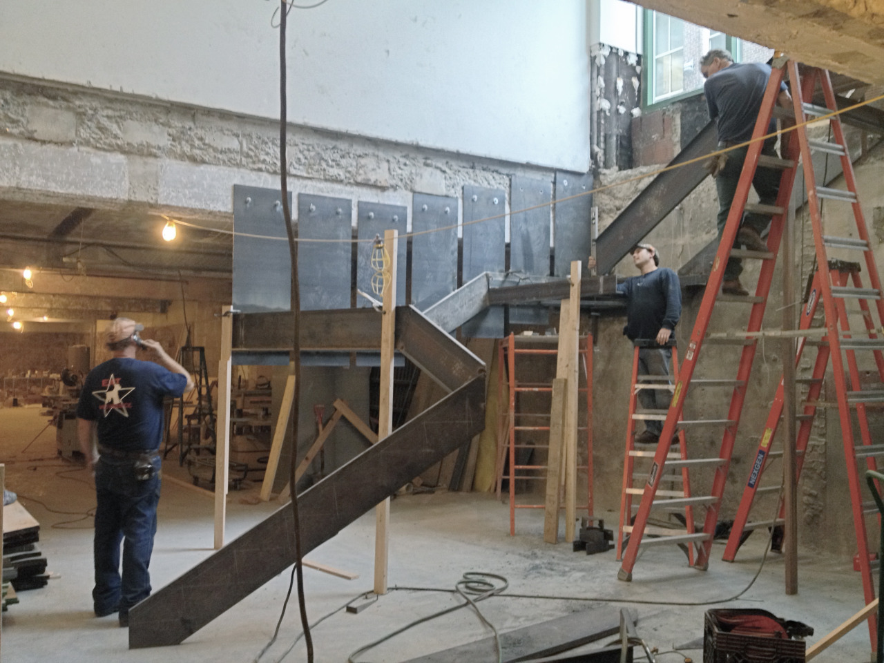 This stair is totally happening… I can hardly wait…