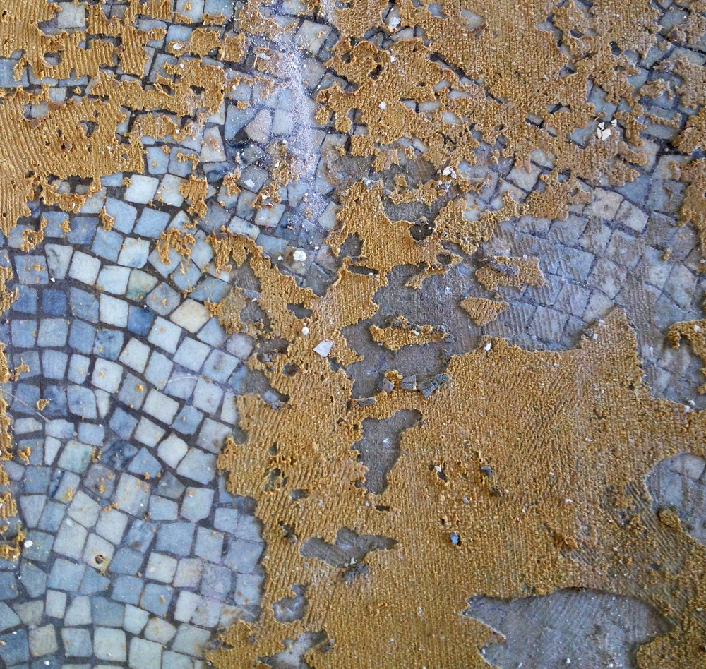 Terrazzo flooring at the Union Trust Building, Providence