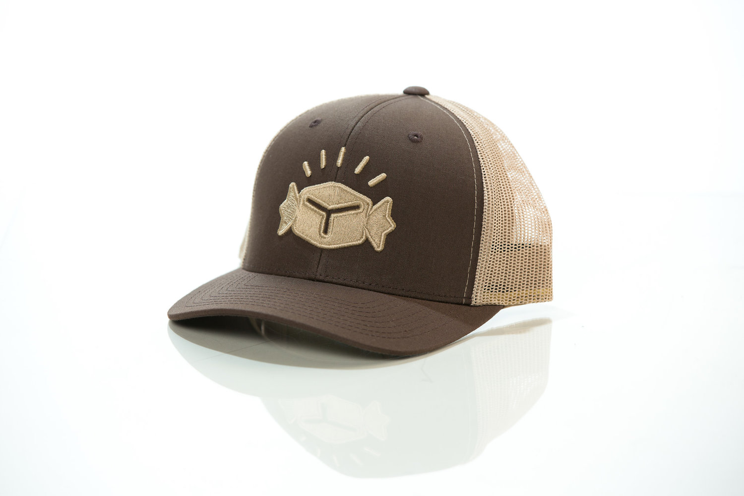 SOLD OUT - Caramel Bling Trucker 2-Tone Hat a2e186bf681