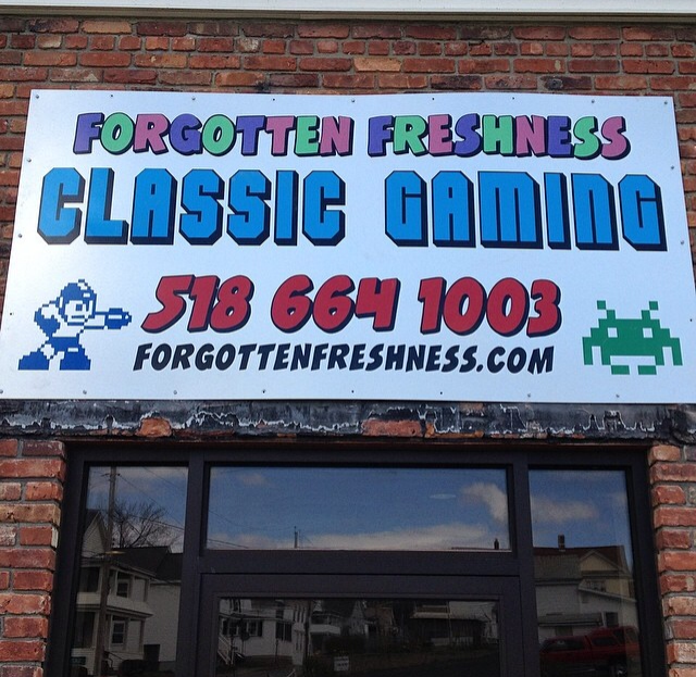 Our sign at 127 Saratoga Ave! Courtesy of the wonderful Fred's Tents in Stillwater NY.