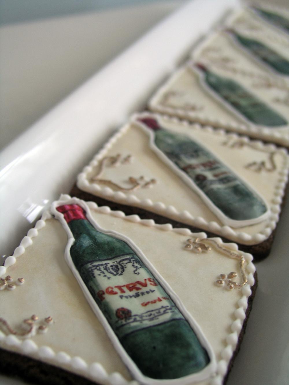 Petrus Wine Cookies