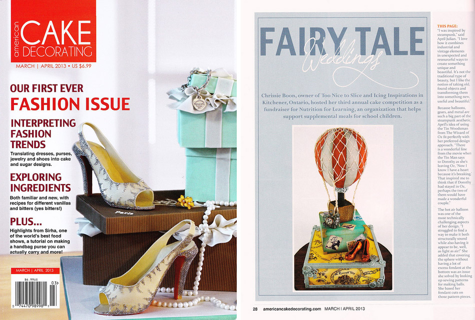 American Cake Decorating Magazine - Mar/Apr 2013