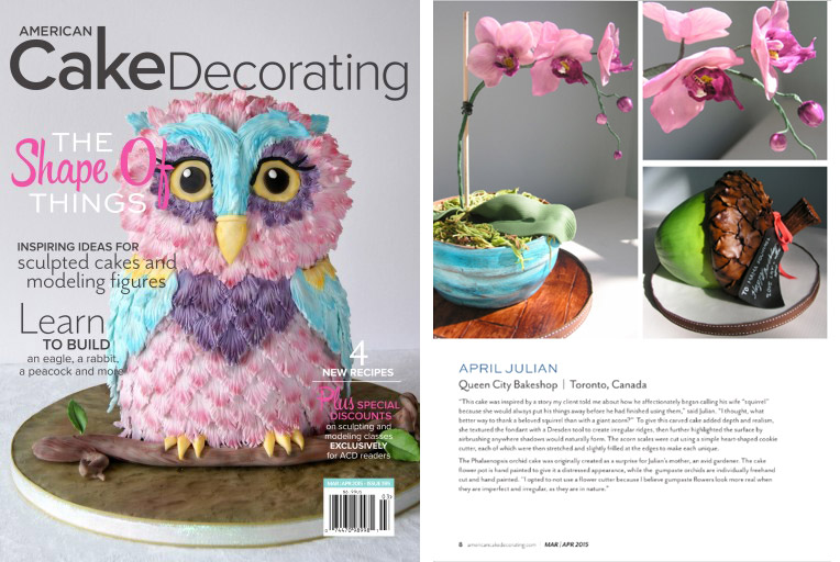 American Cake Decorating Magazine - Mar/Apr 2015