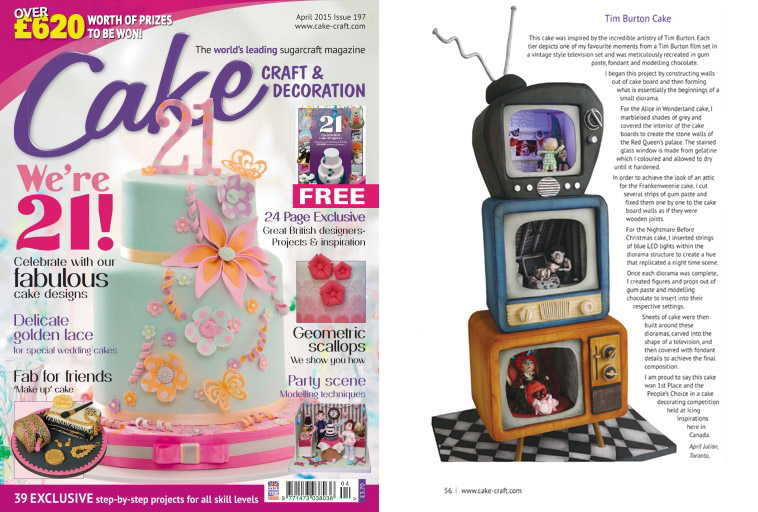 Cake Craft & Decoration UK - April 2015