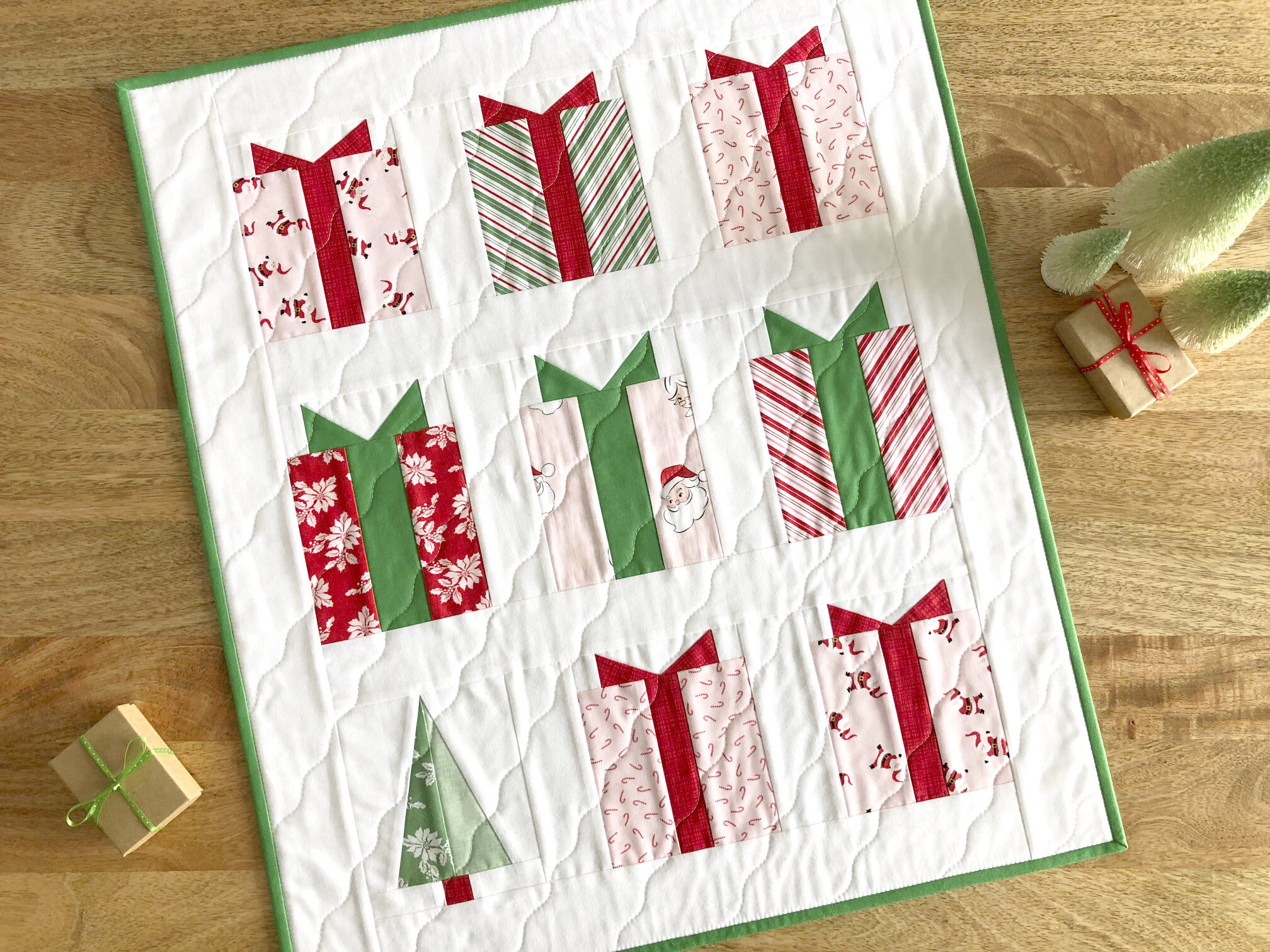 Digital Download Under The Tree Foundation Paper Pieced Templates Hello Y All