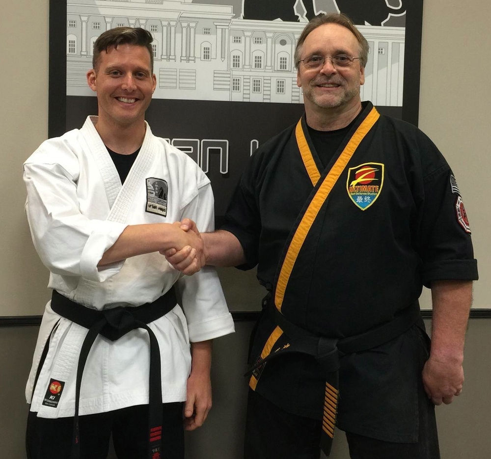 Myself along with Grandmaster Taylor, 2014.