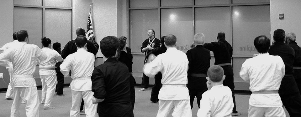 Grandmaster Taylor's first Kenpo Lineage Association seminar at Urban Kempo, Fall 2013