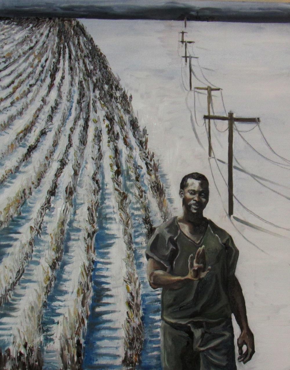 Troy Davis the Green Man